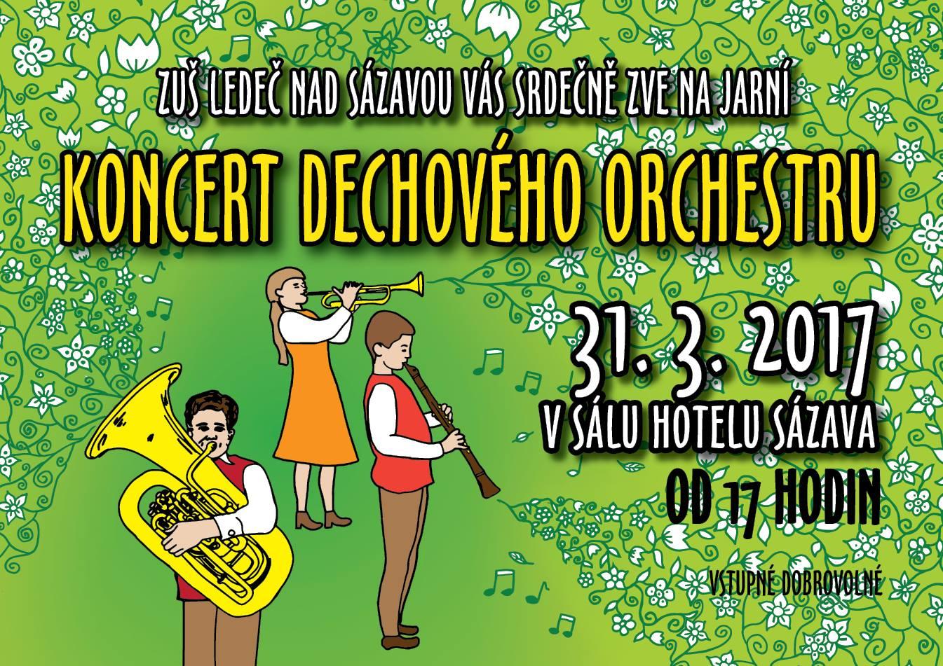 koncert dechového orchestru
